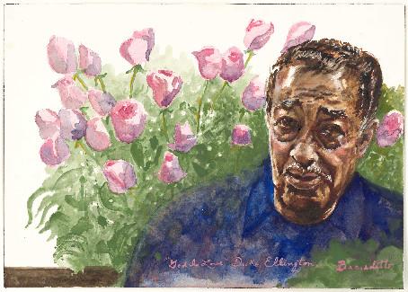 Tony Bennett Ellington Painting