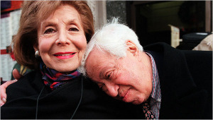 Betty Comden and Adolph Green, 1998