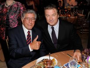 Tony Bennett and Alec Baldwin