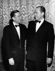 Hoagy Carmichael and Johnny Mercer
