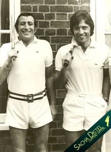Tony Bennett and Sacha Distel